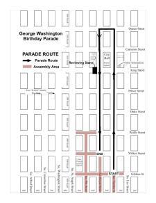 GW Parade Route 2014