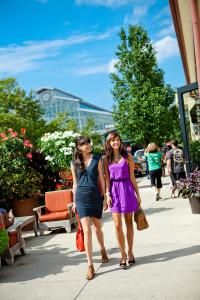 Shopping at Easton Town Center