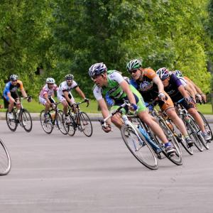 Bike Race in Rochester, NY
