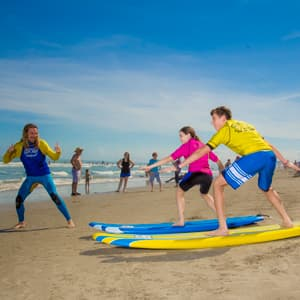 Learn to surf with the Ron Jon Surf School