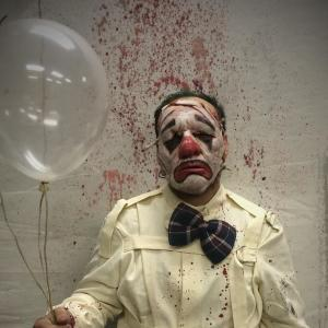 Scary Clown at The Haunt