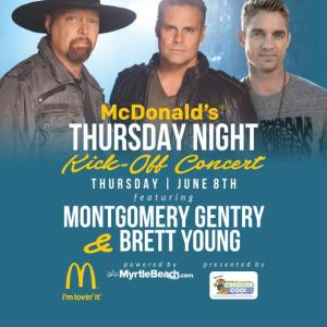 Montgomery Gentry and Brett Young