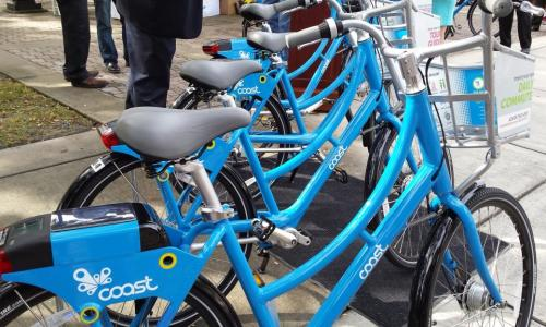 After a members-only kick-off Nov. 17, Tampa Bay's Coast Bike Share program opens to non-members Dec. 7. All you need is a credit card and a helmet.