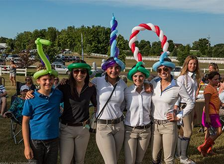Great Lakes Equestrian Festival balloon hats