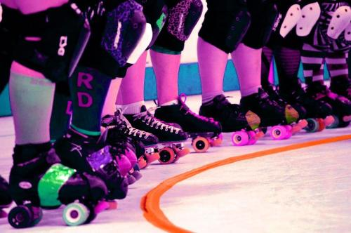 Grand Raggidy Roller Girls Pink Game 2015
