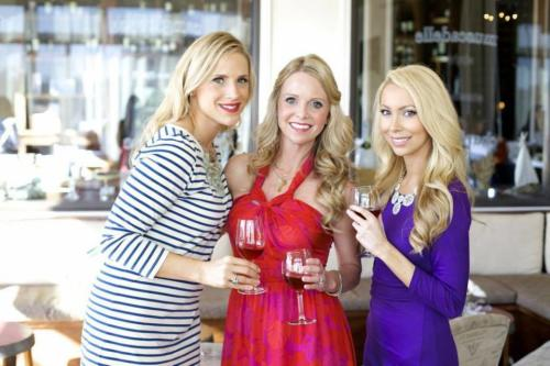 There's nothing better than a glass of wine with your ladies at SeaLegs Wine Bar
