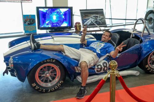 Grand Rapids Comic-Con Iron Man Car