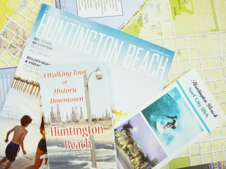 You can find brochures and maps at the visitors kiosk, located right by the pier!