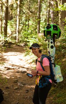 Dana Google Trekking