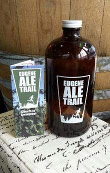 Eugene Ale Trail Passport and Growler