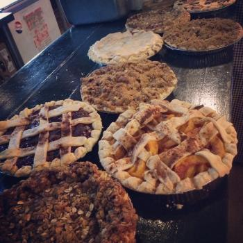 Pies at Royers Pie Haven in Round Top