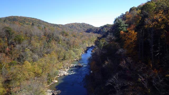Roanoke River Parkway - Fall Photo