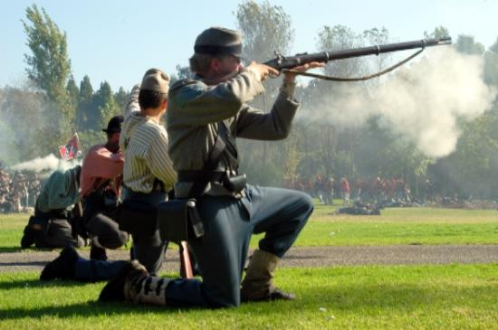 Civil War Days in Central Park