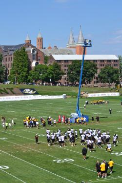 Steelers Training Camp at Saint Vincent College