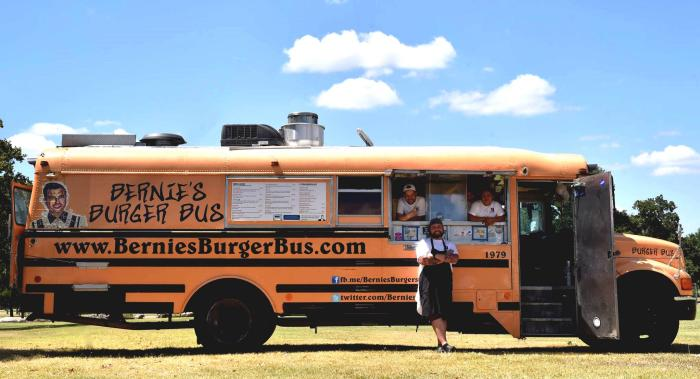 Bernie's Burger Bus Food Truck