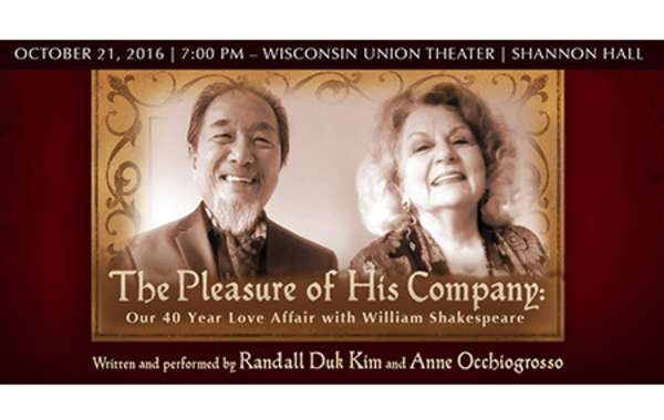 The Pleasure of His Company: Our 40 Love Affair with William Shakespeare