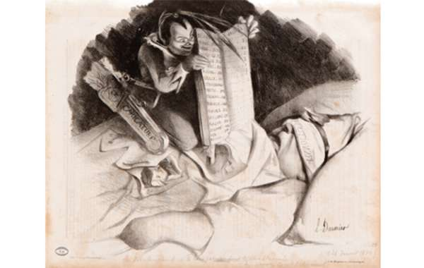 Daumier Lithographs: Characters and Caricatures