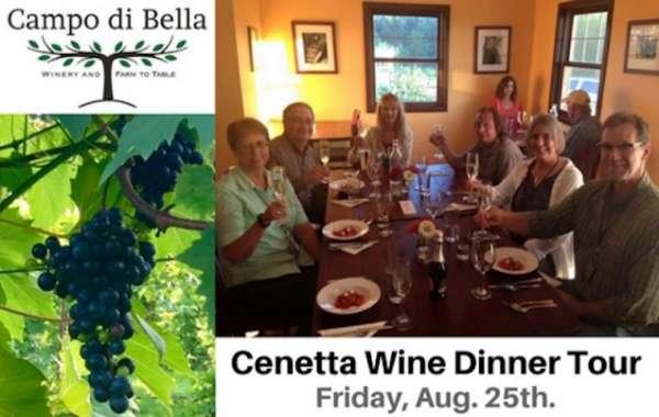 Cenetta Wine Dinner Tour