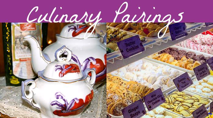Culinary Pairings - Tea + Cookies