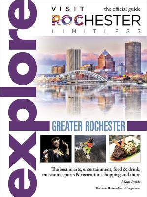 Visit Rochester, NY Explore Guide Cover Page