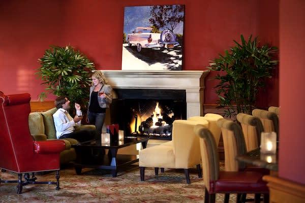 Red Chair Lounge at the Hyatt Regency Huntington Beach