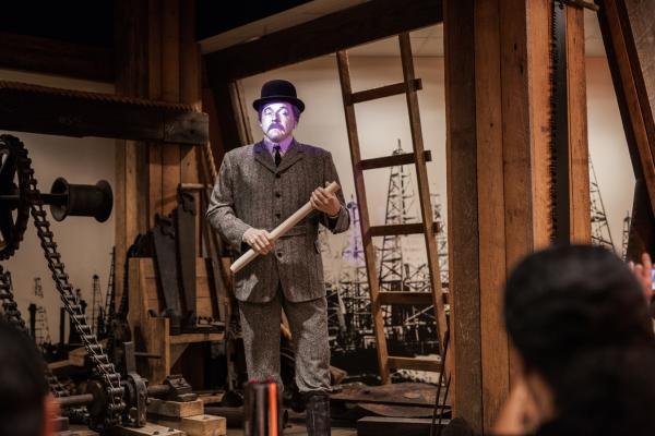 Texas Energy Museum - Spindletop Exhibit