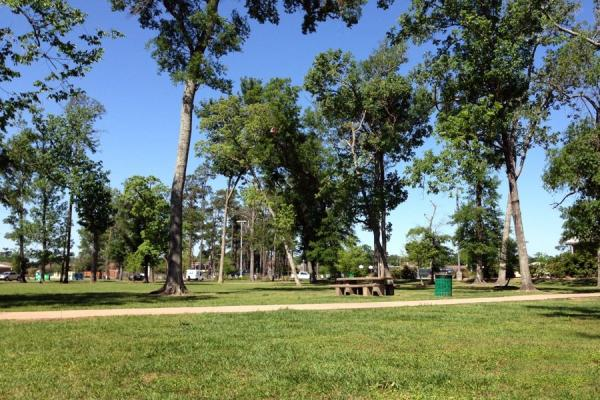 Rogers Park in Beaumont, Texas