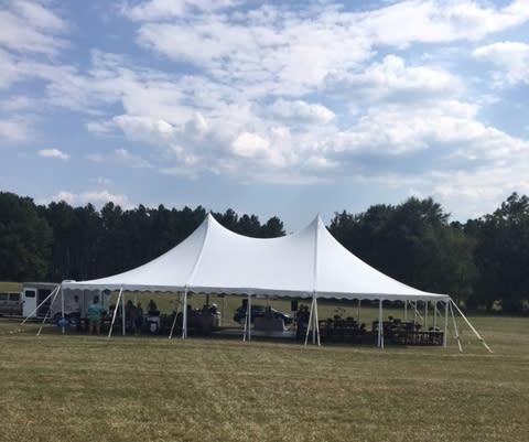 Tent for Dinner