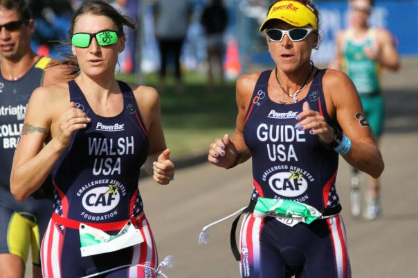 Patricia Walsh at Paratriathlon World Championships 2014