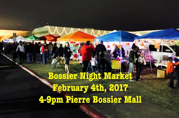 Pierre Bossier Mall Food Trucks In Parking Lot