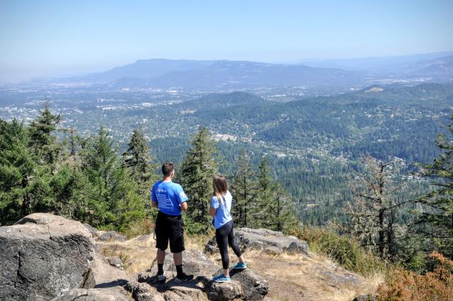 Spencer's Butte from Brandon Fralic