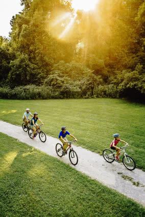 Family Biking - Sample Itineraries