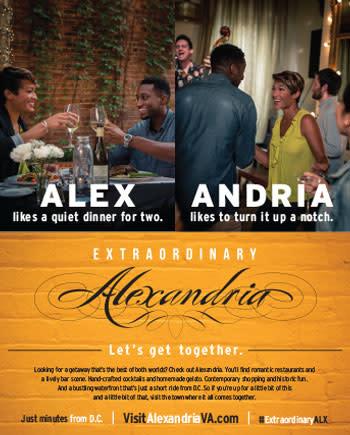 Dining Print Ad
