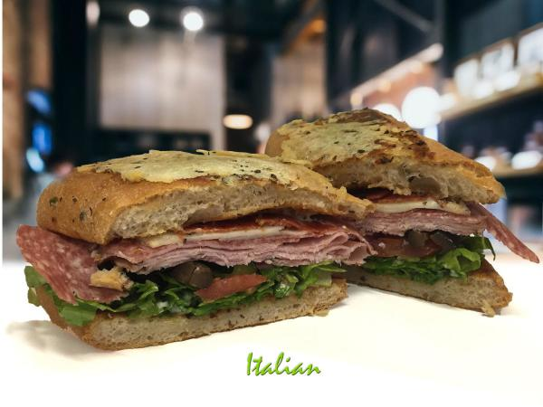 The Italian sandwich from Toasties