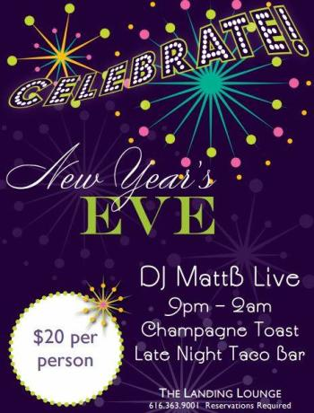Riverfront Hotel New Year's Eve