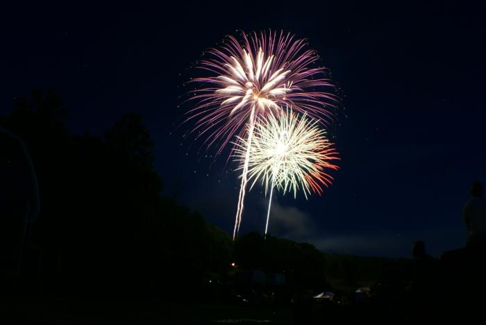 Fireworks Displays in the Pocono Mountains