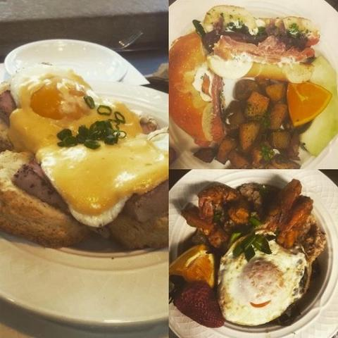 Brunch at Brown Hound in the Memorial Art Gallery
