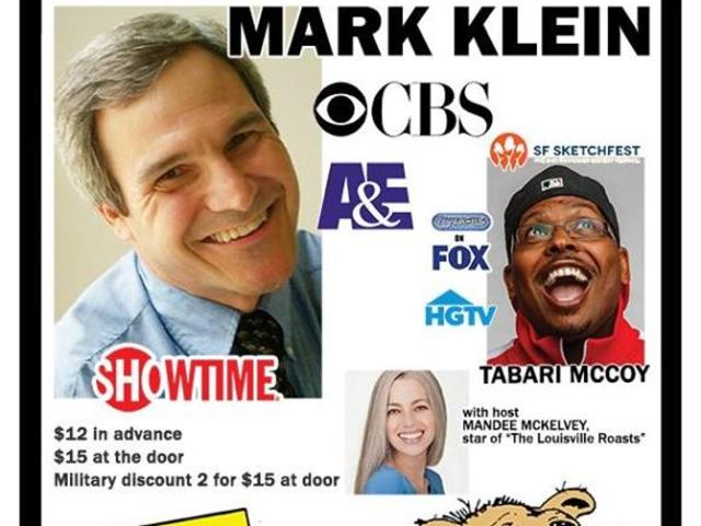 Comedy Caravan Presents:  Mark Klein, Tabari McCoy & Host Mandee McKelvey