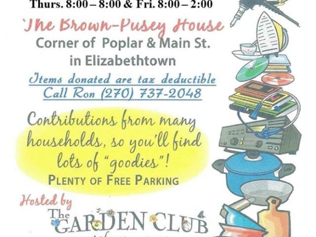 Garden Club's 8th Annual Plant & Yard Sale