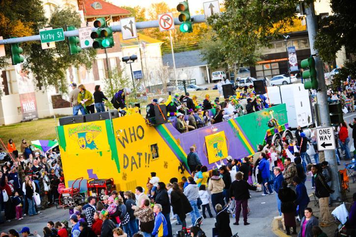 Mardi Gras & Festivals