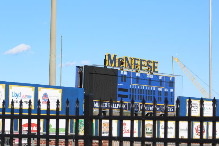 McNeese Baseball/Softball Field