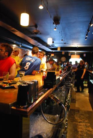 Bar Scene in Trolley Square