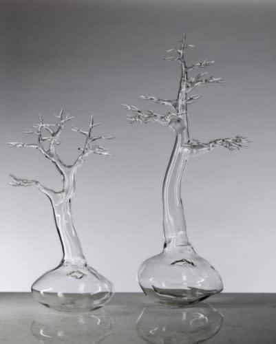2013 ArtPrize Entry Simone Crestani (Molvena, Italy) – Bonsai Group, 2013. Borosilicate glass flameworked