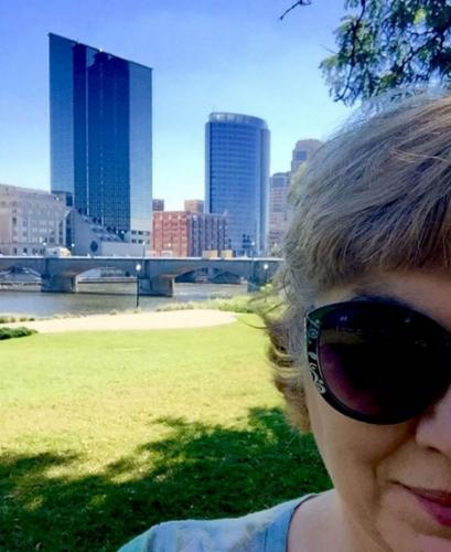 Selfie at Ah-Nab-Awen Park
