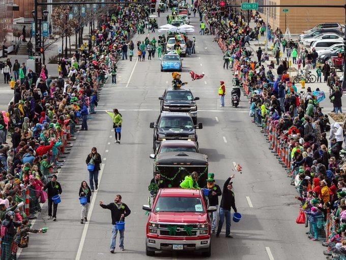 Friendly Sons of St Patricks Day Parade
