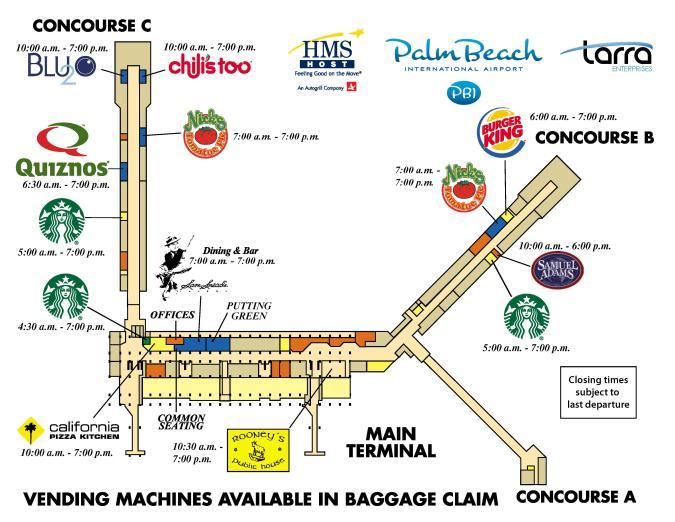 HMS Terminal Map