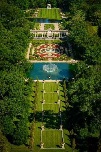 Aerial View of Nemours Estate