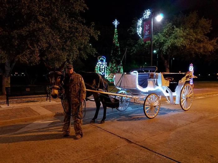 J&R Carriage Rides - Christmas Tours