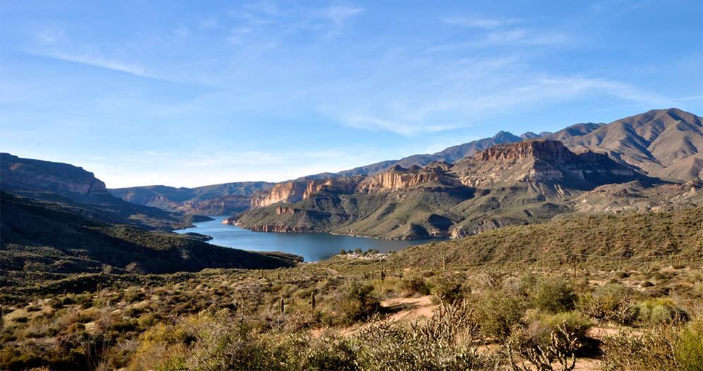 Apache Lake Scottsdales Scenic Waterways