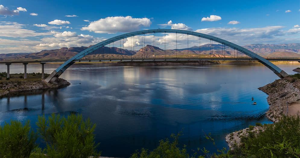 Roosevelt Lake Scottsdales Scenic Waterways